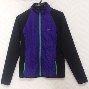 Ralph Lauren Active Jacket Purple Black Green Zip